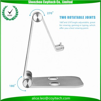 Corporate Promotional Thank You Gifts Items Aluminum Phone Holder