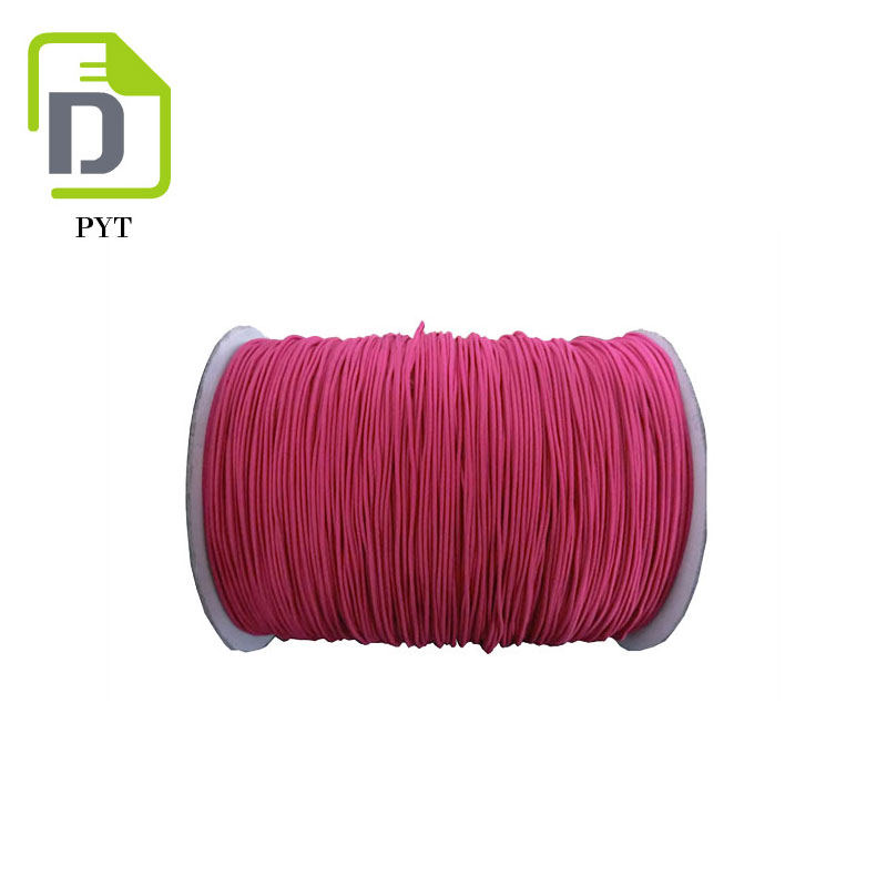 6mm Polyester Drawstring Stiff Cord for Garment