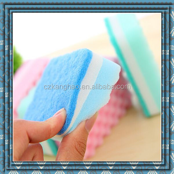 China factory wholesale Best-Selling Dishes Washing Scouring Pad Sponge