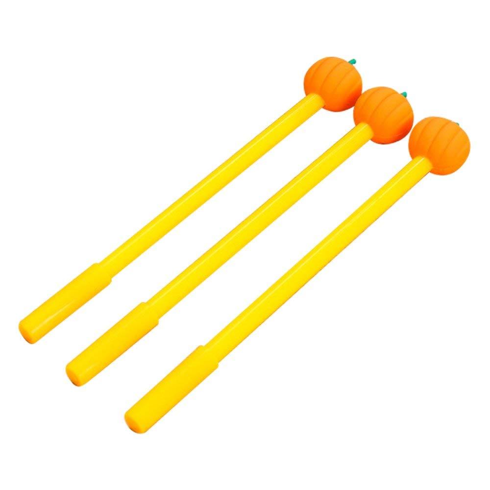 "Baidercor 7"" Cute Pumpkin Gel Pens Set of 12"