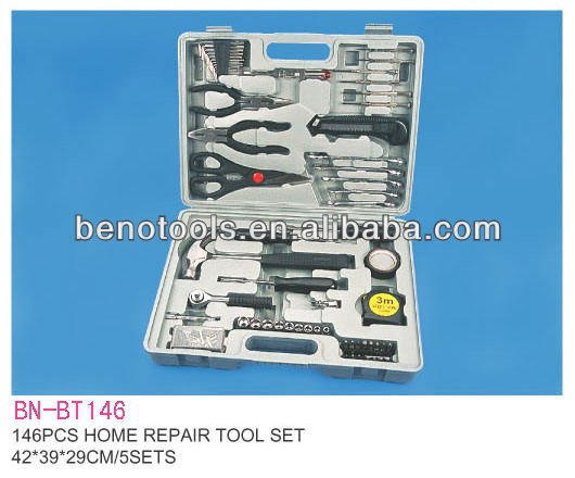 oem factory manufacturer with high quality utility promotion perfect combined tool146 pcs tooling