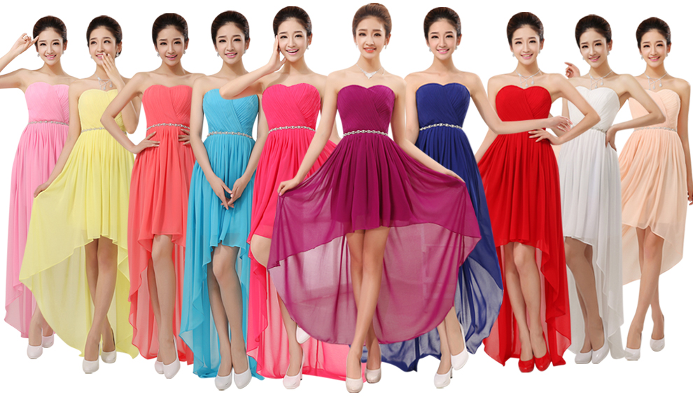 Simple Wedding Dresses Low Back: Aliexpress.com : Buy Cheap Chiffon Bridesmaid Dress Under
