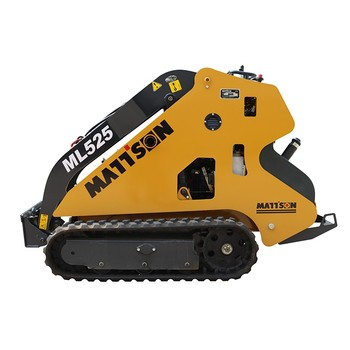 Mattson Ml525 Mini Track Skid Steer Loader Like Bobcat For Sale