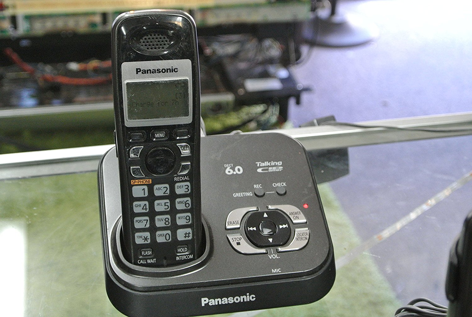 buy panasonic kx tga931t dect 6 0 extra handset charger in cheap rh guide alibaba com