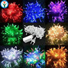 UK US AU Plug Powered Wholesale 20m 200L Fairy Light Flexible Led Mini Copper Wire String Lights Led outdoor Christmas Lights