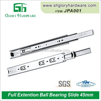 3-Fold Steel Ball Bearing Slide