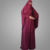 Burgundy Jilbab Suit with Skirt Transformer Khimar Niqab Burqa Muslim Dress Long Telekung Hijab Women Prayer Clothing