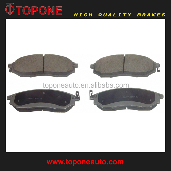 D888 GDB3392 23698 Auto Brake Pad Type For INFINITI For NISSAN Spare Auto Parts