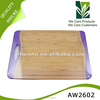 High Grade Bamboo Chopping board with TPE handle