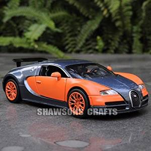 Buy Bugatti Veyron Classic Auto Metal Pull Back Series Red Black