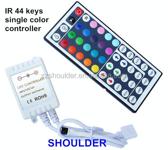 New Arrival 44 key IR Remote Controller For 5050 3528 RGB Led String Light Strip