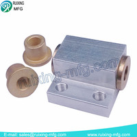 Sewing machine spare parts from aluminum cnc machining parts