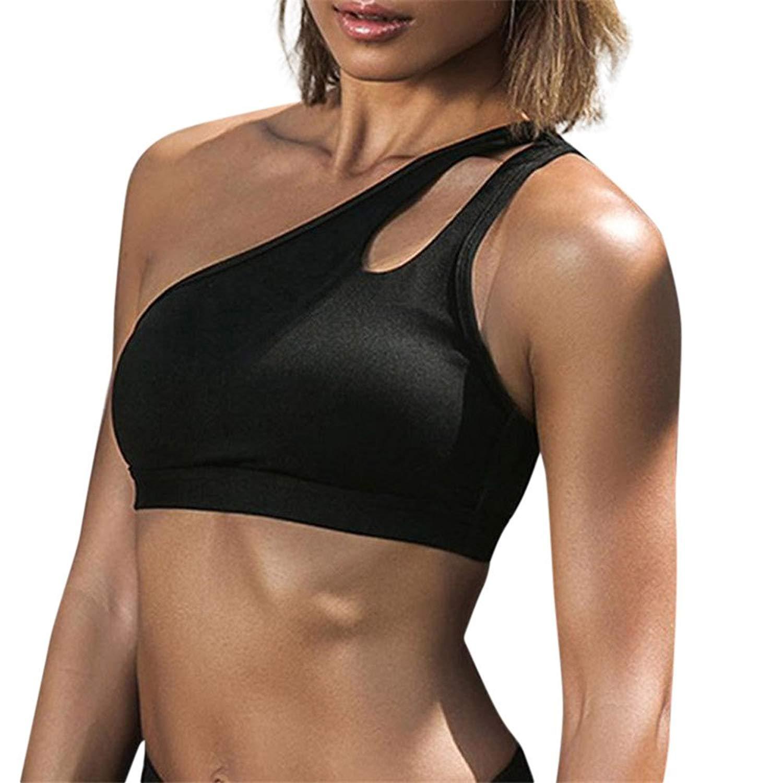 Hengshikeji Clearance Womens Cami Tank Tops Fitness Yoga Vests Sleeveless Blouse Shirts Teen Girls Casual Crop Tops T-Shir