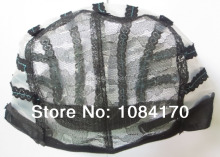 5 PCS Black  Wig Making Cap Machine Wig Net Wig Mesh Hair Net Wig Caps