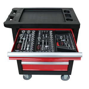 6 Drawers Tool Cabinet With Hand Tool Set Trolley With Tool