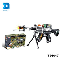 New product on china market B/O plastic laser tag gun with lights and sound