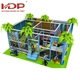 Eco-friendly kids indoor playground jungle gym soft play for sale