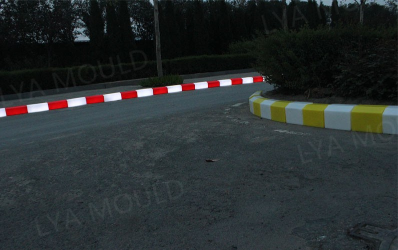 Can Light 50000 Hours Road Side Curb Stone Colors Led Curb