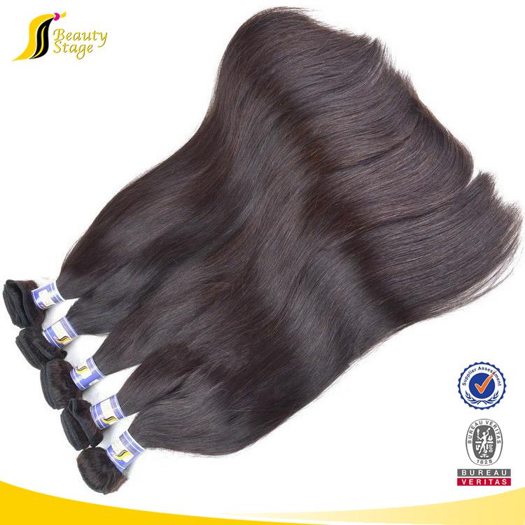 Natural Black Kbl Brazilians Hairwholesale Double Drawn Hair