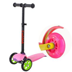 Hot Sale Professional Made Soft Handle Cute Children Fun Scooter