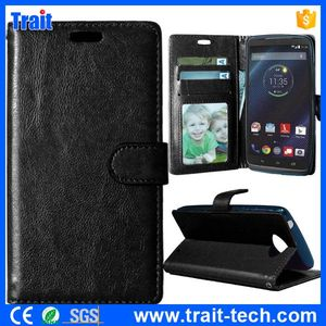 Buy from China Phone case, Wallet Style Magnetic Flip Stand Case for Motorola Droid Turbo XT1254