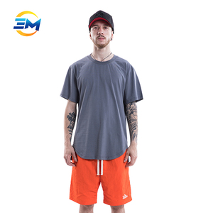 Custom wholesale UK men's clothes blank bamboo fabric t shirt online shopping