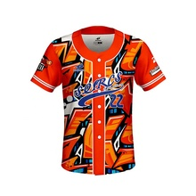 Groothandel hot Custom Dri Fit Gesublimeerd 100% Polyester SportBaseball <span class=keywords><strong>Jersey</strong></span> T-shirt Cool Patroon <span class=keywords><strong>Baseball</strong></span> <span class=keywords><strong>Jersey</strong></span> <span class=keywords><strong>Ontwerp</strong></span>