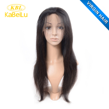 Unprocessed thick brazilian 18 inch virgin human hair u part wig, wholesale price brazilian afro kinky human hair wig