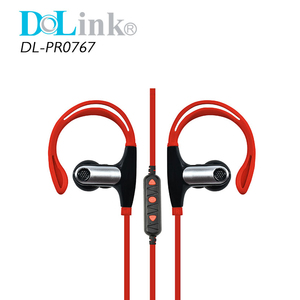 Bulk Cheap Stereo Earhook Wireless In Ear Headphones with Mic for IPhone for Xiaomo Earphones