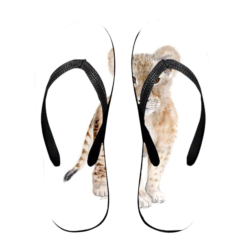 Ltgyth Green Plant Pattern Unisex Flip Flops Sandal for Women/Men Cool Beach Slipper