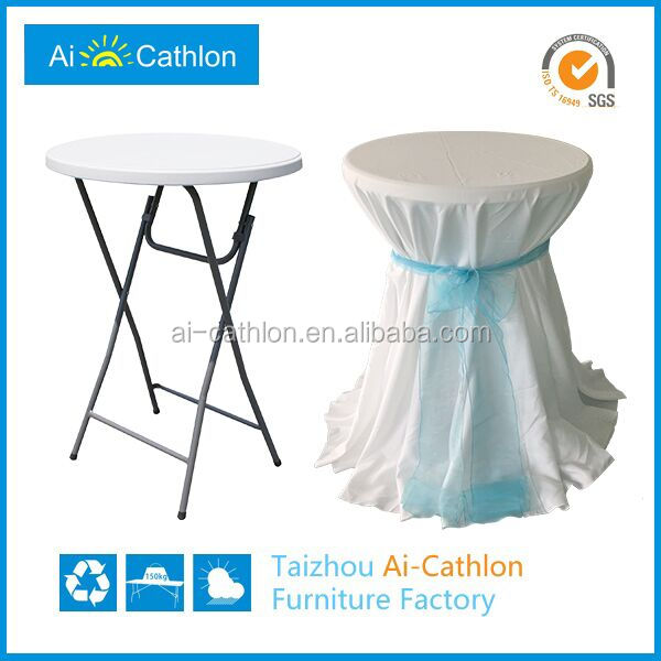 Factory Promotion Spandex Cocktail Table Cover,Stretch Round Top ...