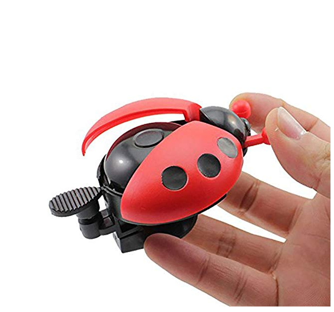kids bike bell Cute Ladybug Bicycle Warning Bell for Boys Girls