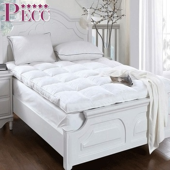 China Thick Goose Feather Single Bed Mattress Topper Pad Full Buy