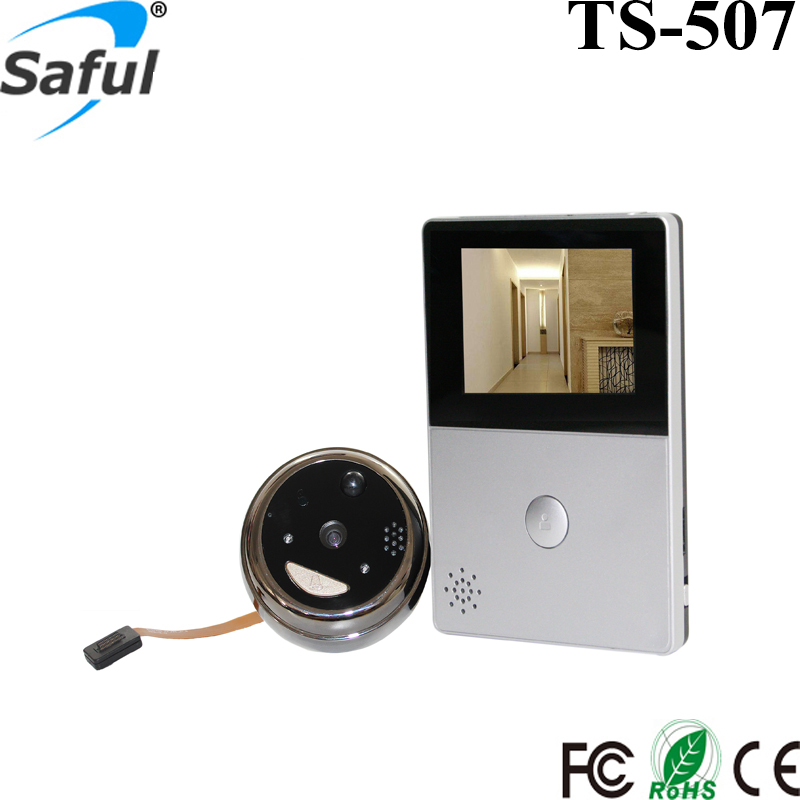 Smart Home Wide Angle Ultra-Low Power Wifi Electronic Eye Viewers Doorbell