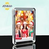 JINBAO custom factory directly sale glass acrylic photo picture frame clear double sided 4x6 5x7 6x8 8x10 acrylic photo frame