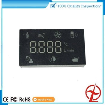 Microwave Oven Led Display Screen 7 Segment Yellow Green Color