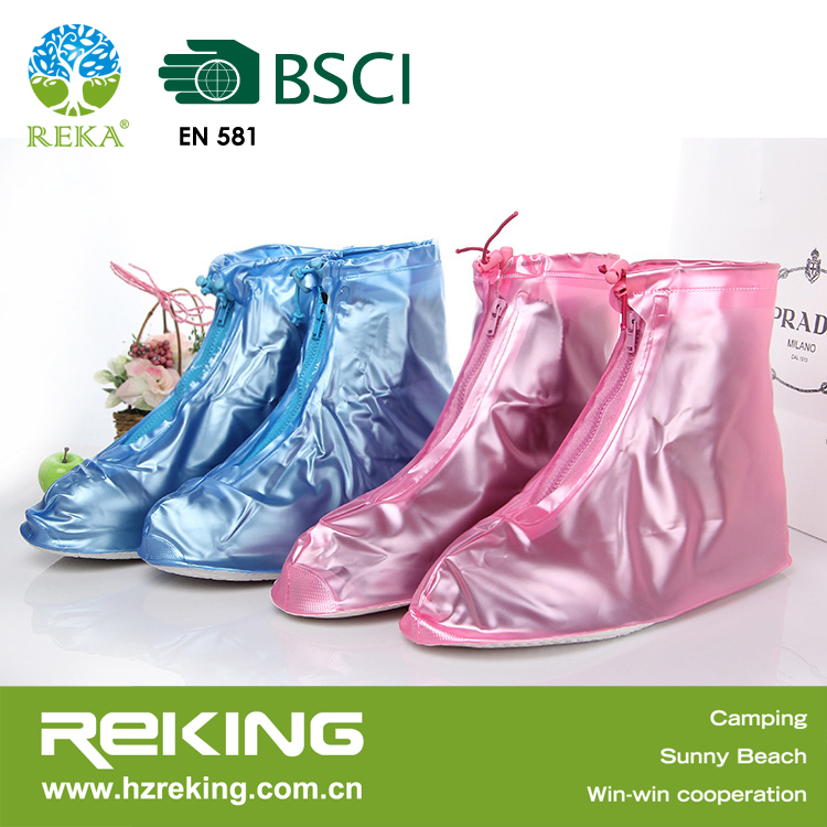 Rain plastic shoes covers