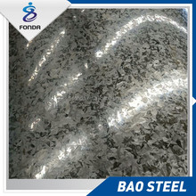 Lastest galvanized steel sheet in coils secondary quality