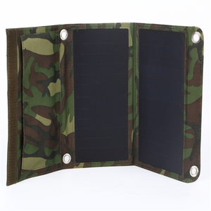 Ocean Solar hot selling foldable outdoor solar panel military for smartphone charger