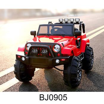 Elektrische Dubbele Accu Auto Speelgoed Kind Elektrische Auto