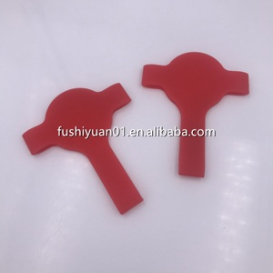 custom made silicone rubber sleeve red colored rubber band