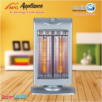 90 degree turning 500/1000W Electric Heater Carbon Fiber Heater Carbon Infrared Heater with Overheating Protector