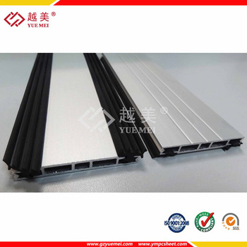 59c3890dc60 Polycarbonate Sheet Accessories Plastic And Aluminum U Profile - Buy ...