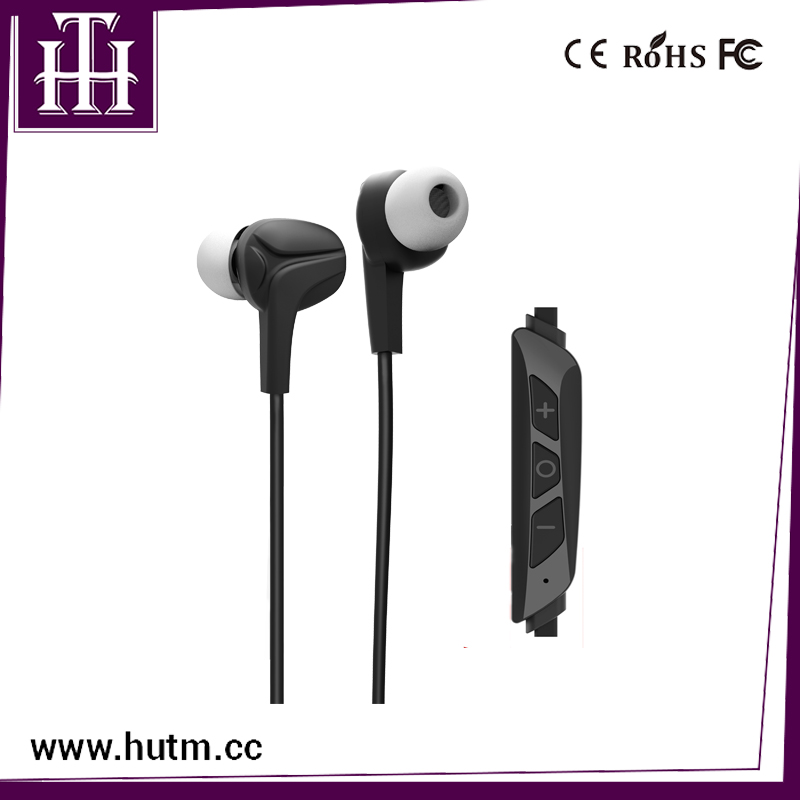 New sport stereo earphone with working range 10m standby time 200Hrs sport earbuds