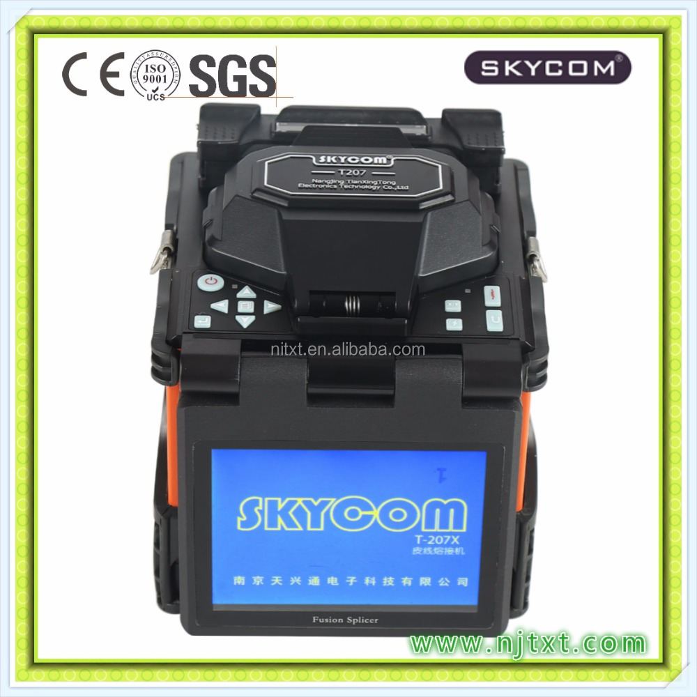 Fusion Splicer SKYCOM T-207X For FTTH & Bare Fiber