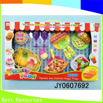 Popular Toy Funny Food Mini Kitchen Set Toy Pretend Kitchen Set ...