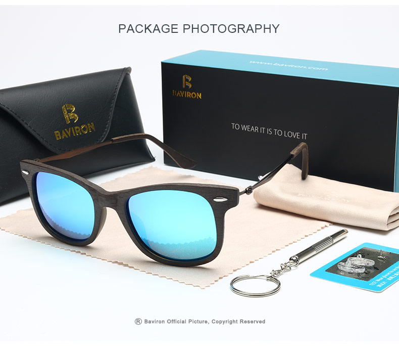 888f62ad552 BAVIRON 2017 New Men Sun Glasses Wood Retro Classic Sunglasses Women ...
