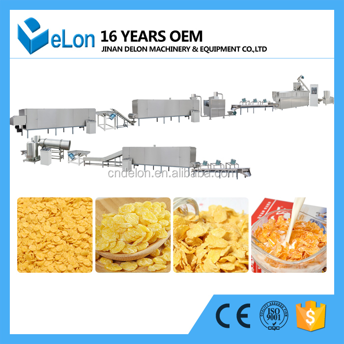 jinan delon corn flakes production lion