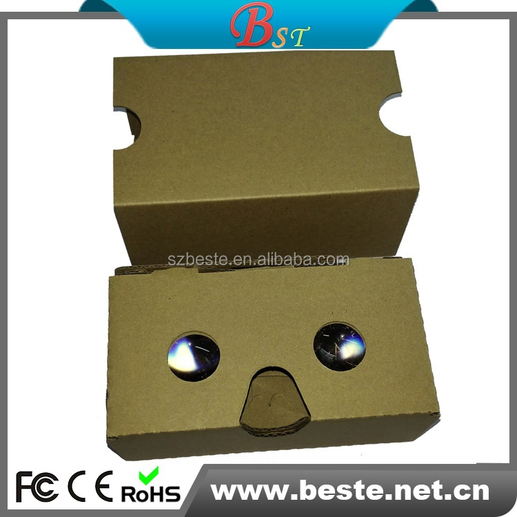 Virtual Reality- Compatible with Android & iPhon Smart Phones v2.0 google cardboard