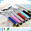 Retractable promotional pen stylus for iphone with dust plug